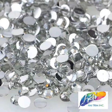 8mm Crystal Acrylic Rhinestones  (1 pack = 2000 pieces)