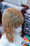 Rhinestone Chain Head Dress