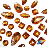Orange Resin Stones, DD28