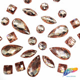 Dusty Rose (Champagne) Resin Stones, DD10