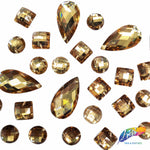 Light Colorado Topaz Resin Stones, DD02