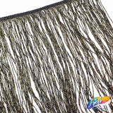 "Metallic Chainette Fringe with Lurex (6"" 12"" 24"")"