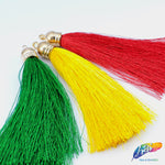 Silk Tassels with Gold Cap, TSL-01