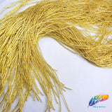 "36"" Gold Bugle Beaded Fringe, FR-020"
