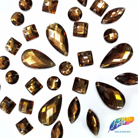 Brown Resin Stones, DD54