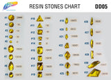 Yellow Resin Stones, DD05