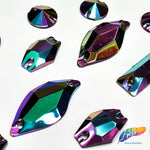 Metallic AB Resin Stones Color C