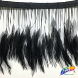 "4-6"" Stripped Hackle Fringe"