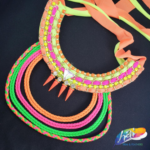 Neon Color Carnival Necklace