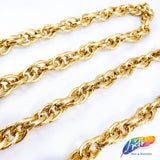 "1/2"" Double Braided Metallic Cable Chain, CH-102"