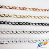 "1/4"" Lightweight Metallic Cable Chain, CH-109"