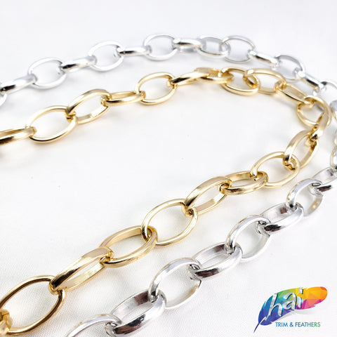 "3/8"" Oval Cable Chain, CH-103"