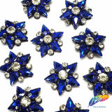 Color Rhinestone Star Patches (3 pieces), BA-083