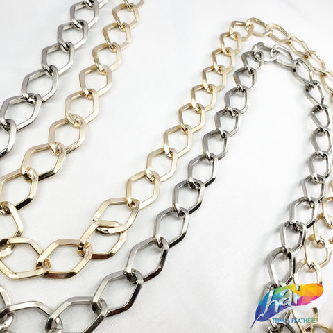"1/2"" Diamond Cable Chain, CH-111"