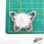 Beaded Rhinestone Butterfly Patch Applique, Embroidery Patches, Perfect for Hats, Clothes, Jackets, Accessories, Crafts, DIY, BA-071,084,123