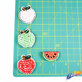 Watermelon Beaded Patch (4 pieces), BA-079
