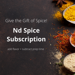 Nd Spice Subscription