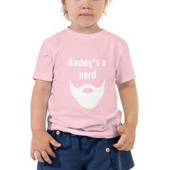 Daddy's a Nerd/ Mommy's a Genius Toddler Short Sleeve Tee