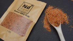 shows texture of nerdy dad sweet bbq rub