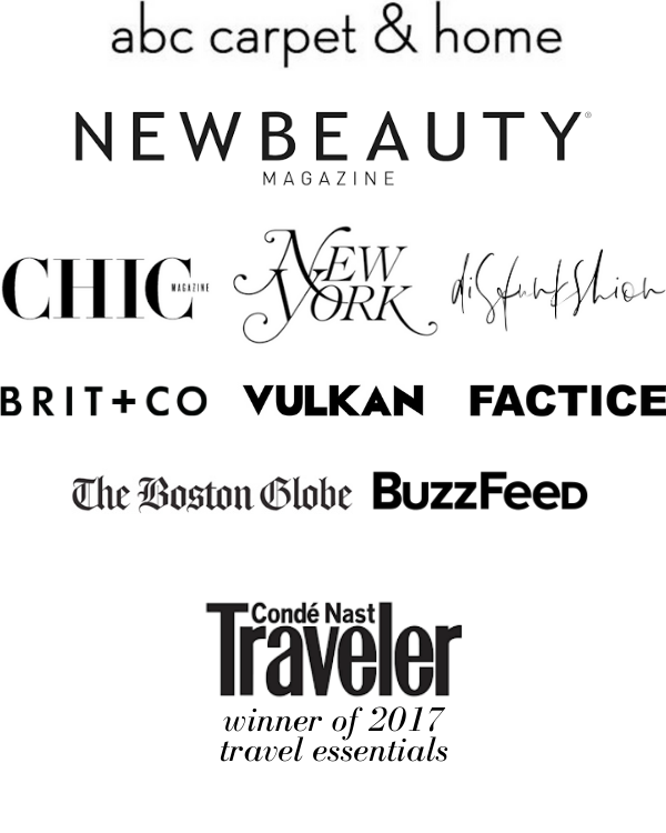 Malaya Organics featured in Chic Magazine, New York Magazine, The Boston Globe, Factice, Vulkan, Brit+Co, Buzzfeed, NewBeauty
