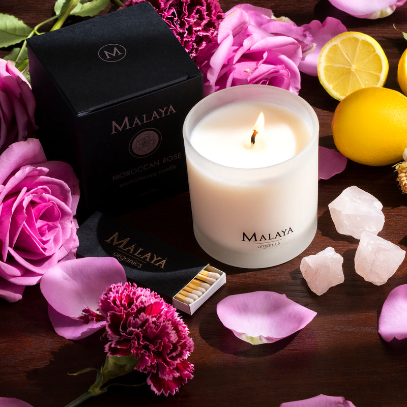 Aromatherapy Candle - Moroccan Rose