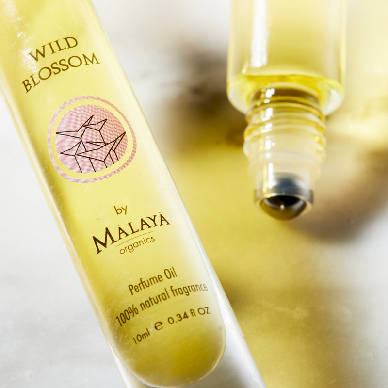 Perfumes with Organic Essential Oils - Wild Blossom