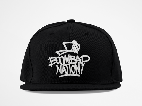 BOOM BAP NATION LOGO SNAPBACK