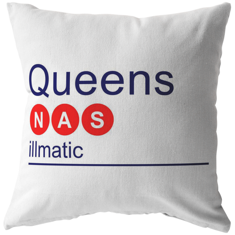 NAS Red/Blue Pillow