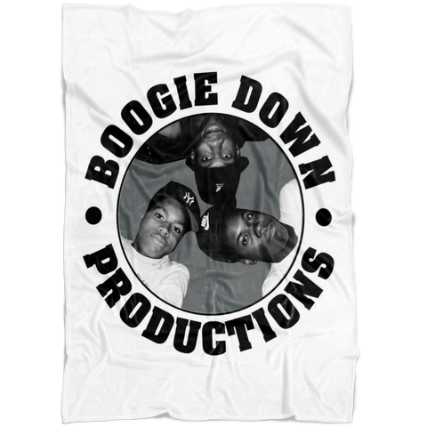 Boogie Down Productions Fleece Blanket