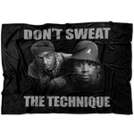 Don't Sweat The Technique Fleece Blanket
