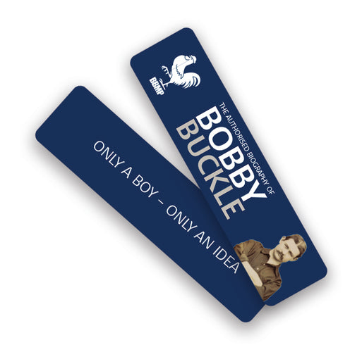 Bobby Buckle Bookmark