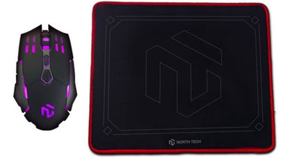 Combo Gamer Mouse Y Pad Mouse North Tech
