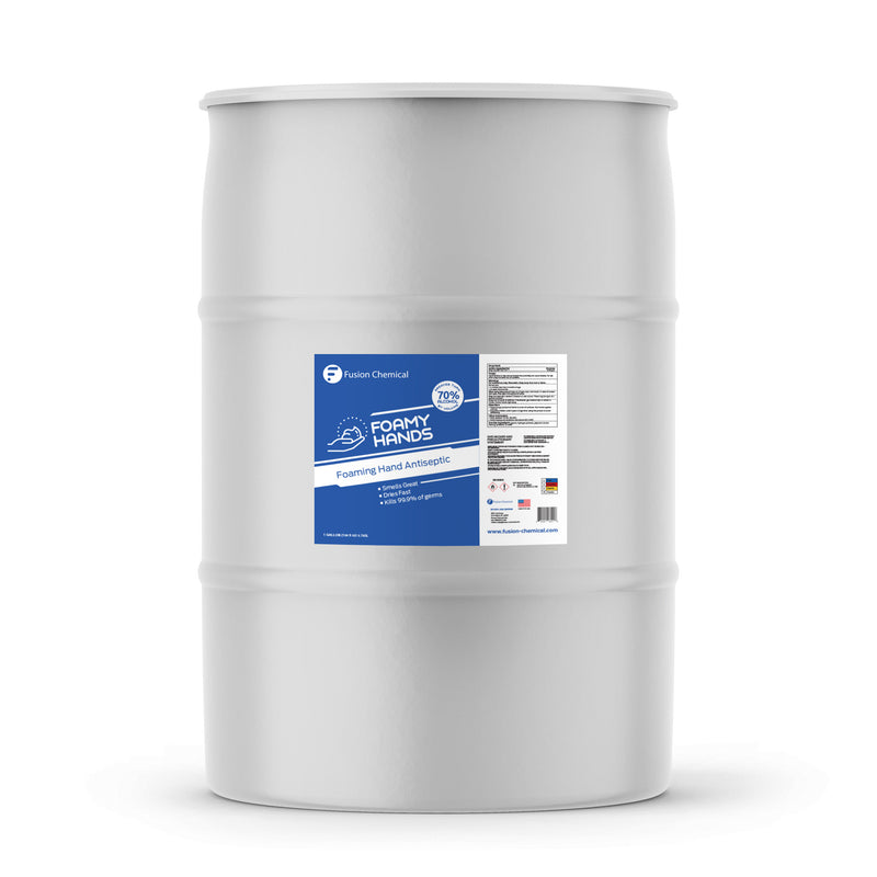 Fusion Foamy Hand Antiseptic—55 Gallon Drum
