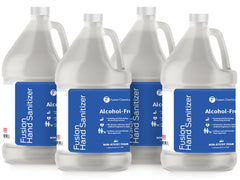 Fusion Foaming Alcohol Free Hand Sanitizer—4 Gallon Case