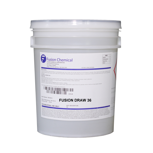 Fusion Draw 36 Emulsifiable, Metalforming Lubricant