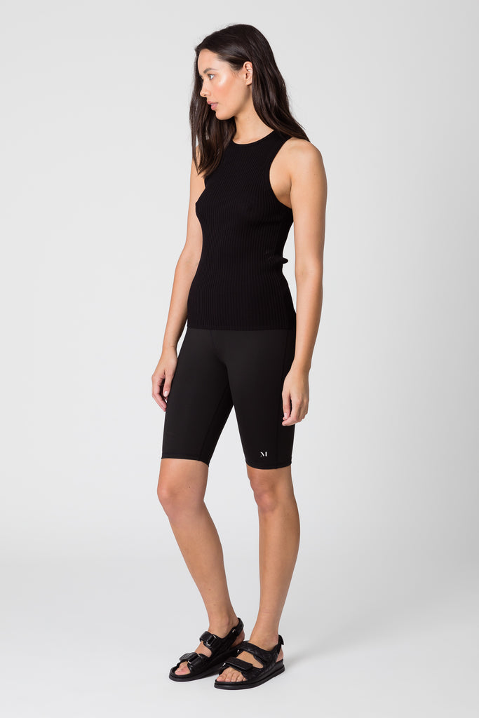 Everyday Knit Tank - Black