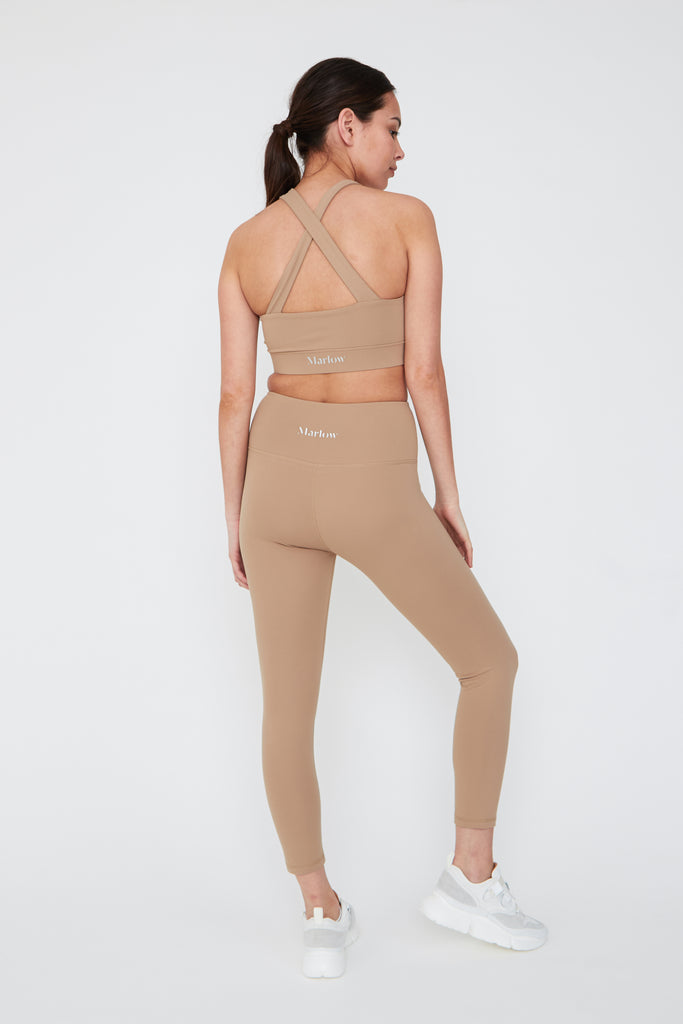 7/8 Flo Legging - Clay