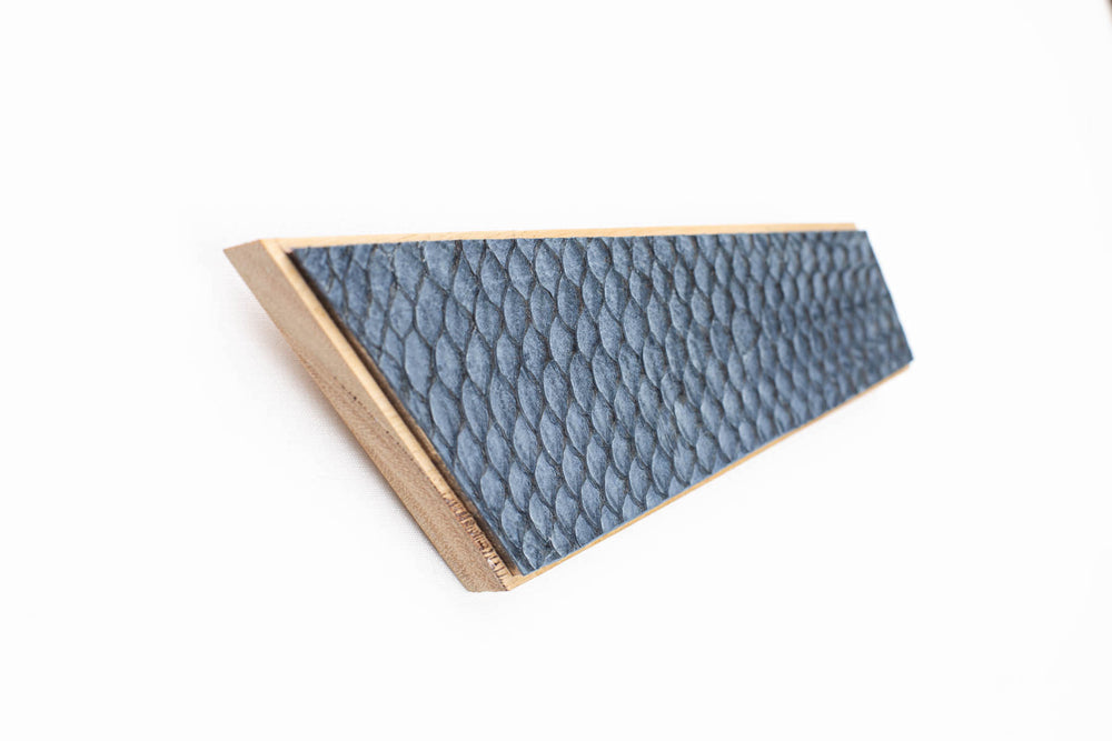 Magnetic Rack - Fish Leather Blue