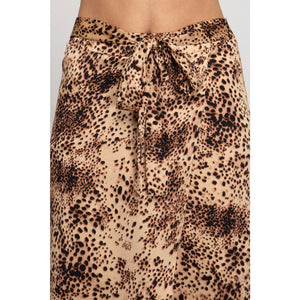 Wild for you wrap skirt