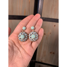 Load image into Gallery viewer, Torquoise shine bright earring