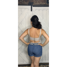 Load image into Gallery viewer, Vintage Grey Bodysuit