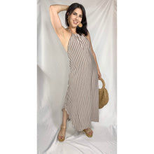 Load image into Gallery viewer, Striped Maxi Dress