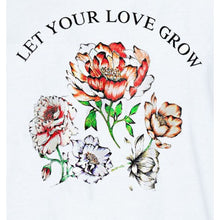 Load image into Gallery viewer, Oversized flower tee