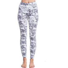 Load image into Gallery viewer, Marble Ankle length Active Pants