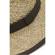 Load image into Gallery viewer, Summer chic straw pork pie hat