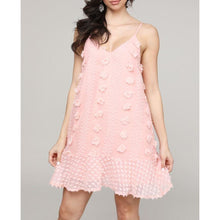Load image into Gallery viewer, Babydoll Swiss Dot dress