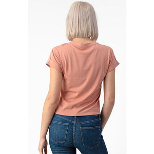 Roll-up Sleeve Tee