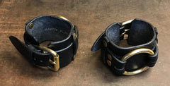 Big B leather bracelet