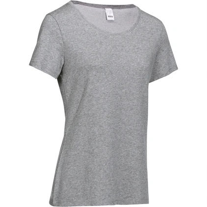 Women's Pilates and Gentle Gym Regular-Fit T-Shirt 500
