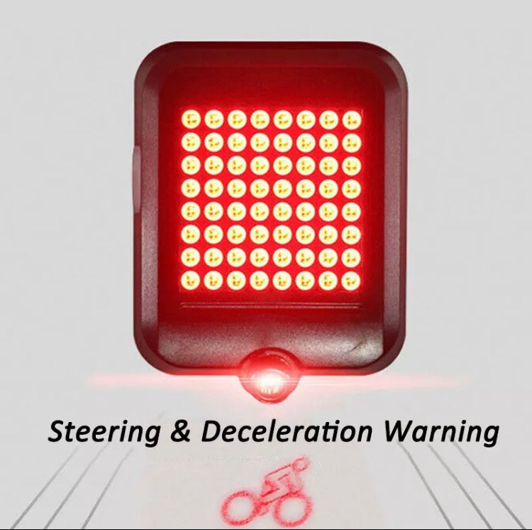 Auto-Signaling Bicycle Tail Light ( Turn / Stop )